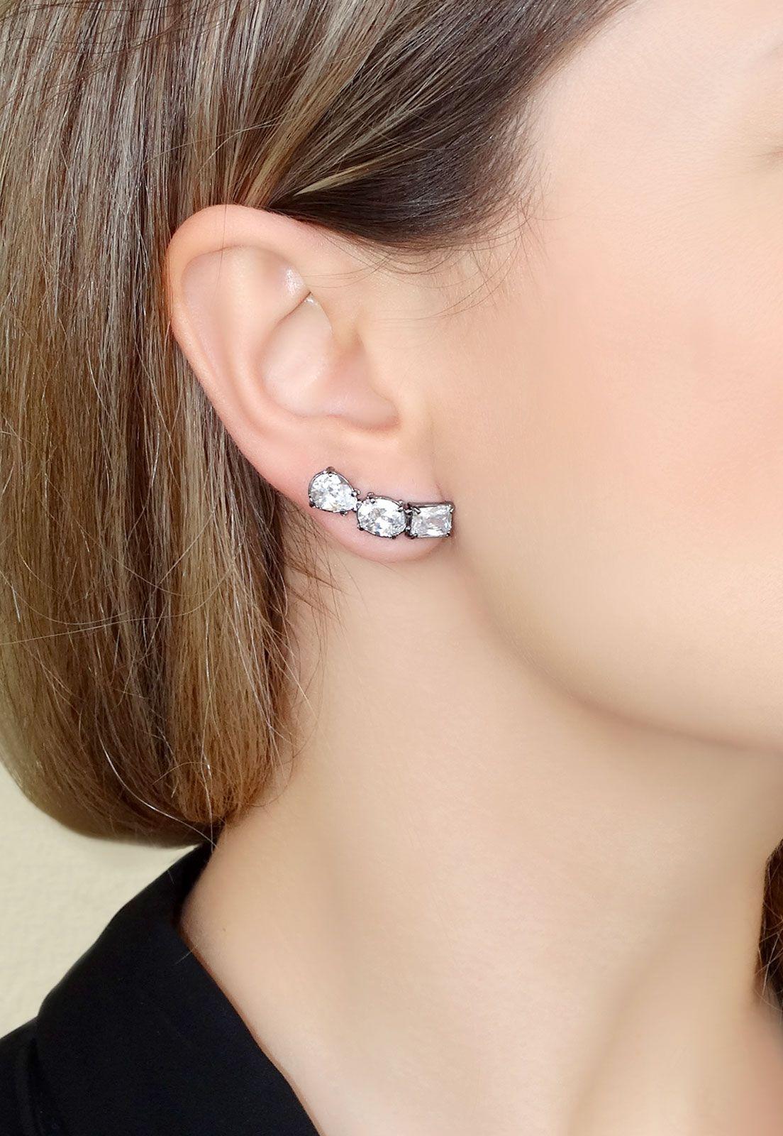 BRINCO EAR CUFF CRISTAL P