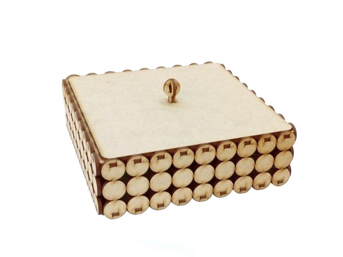 Caixa Em Mdf Para Pérolas Porta Bijuterias