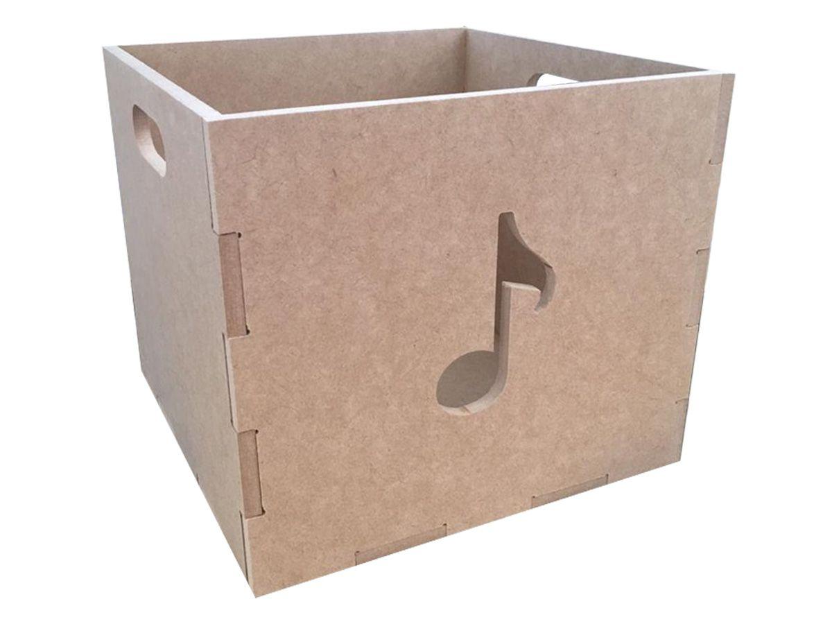 Caixa Organizadora Brinquedos Infantil Em Mdf