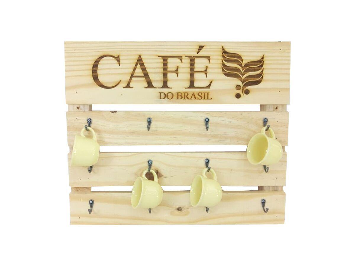 Suporte Para Xícaras De Café Modelo Café