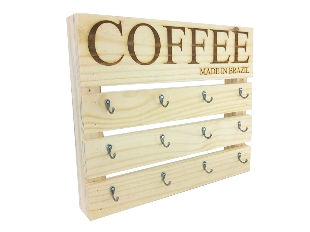 Suporte Para Xícaras De Café Modelo Coffee