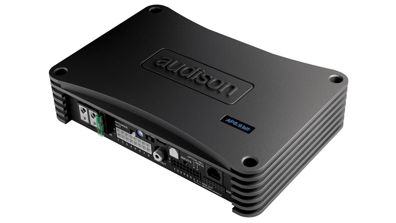 Amplificador Audison AP8.9 bit C/Processador Integrado 8 CH