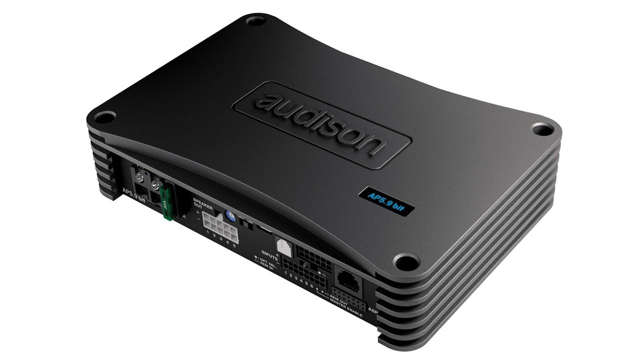 Amplificador Audison Ap 5.9 Bit C/ Processador Integrado 5ch