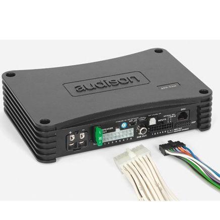Amplificador Com Processador Audison Ap4.9 Bit ( 4 Canais )