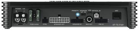 Amplificador Processador Integrado Audison Ap F8.9 Bit 8 Canais