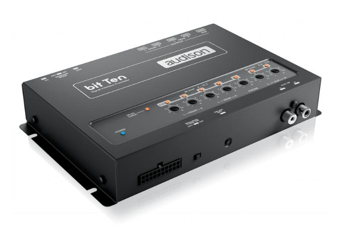 Processador De Áudio Audison Bit Ten