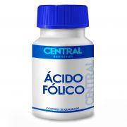 Ácido Fólico (Vitamina B9) - 800mcg 60 cápsulas
