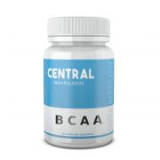 BCAA 600mg - 120 cápsulas - Ganho de Massa Muscular