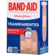 CURATIVO BANDAID TRANSPARENT 40UN