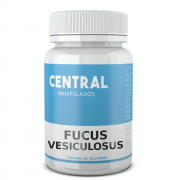 Fucus vesiculosus 500mg - 120 cápsulas - Auxílio na Redução de Medidas e Gerenciamento do Peso