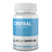 L glutamina 500mg - 60 cápsulas - Suplemento para prática esportiva, Reforço para Imunidade, Desintoxicação corporal, Regulador Hormonal