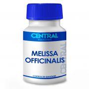 Melissa officinalis 500mg 120 cápsulas - Auxilia no tratamento do nervosismo, agitação e distúrbios do sono