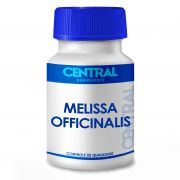 Melissa officinalis - Auxilia no tratamento do nervosismo, agitação e distúrbios do sono - 500mg 30 cápsulas