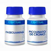 Picolinato de Cromo 250mcg + Faseolamina 500mg com 120 cps