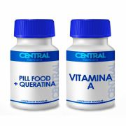 Pill food + Queratina + Vitamina A