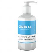 Ácido Salicílico 1% - 200ml Sabonete Líquido - Acne, Caspa, Dermatite seborreica, Regularizador de oleosidade, Esfoliante