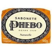 SABONETE  PHEBO NATURELLE 90G 12UN