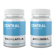Tadalafila 5mg 120 Cápsulas + Arginina 500mg 120 Cápsulas - Vasodilatador