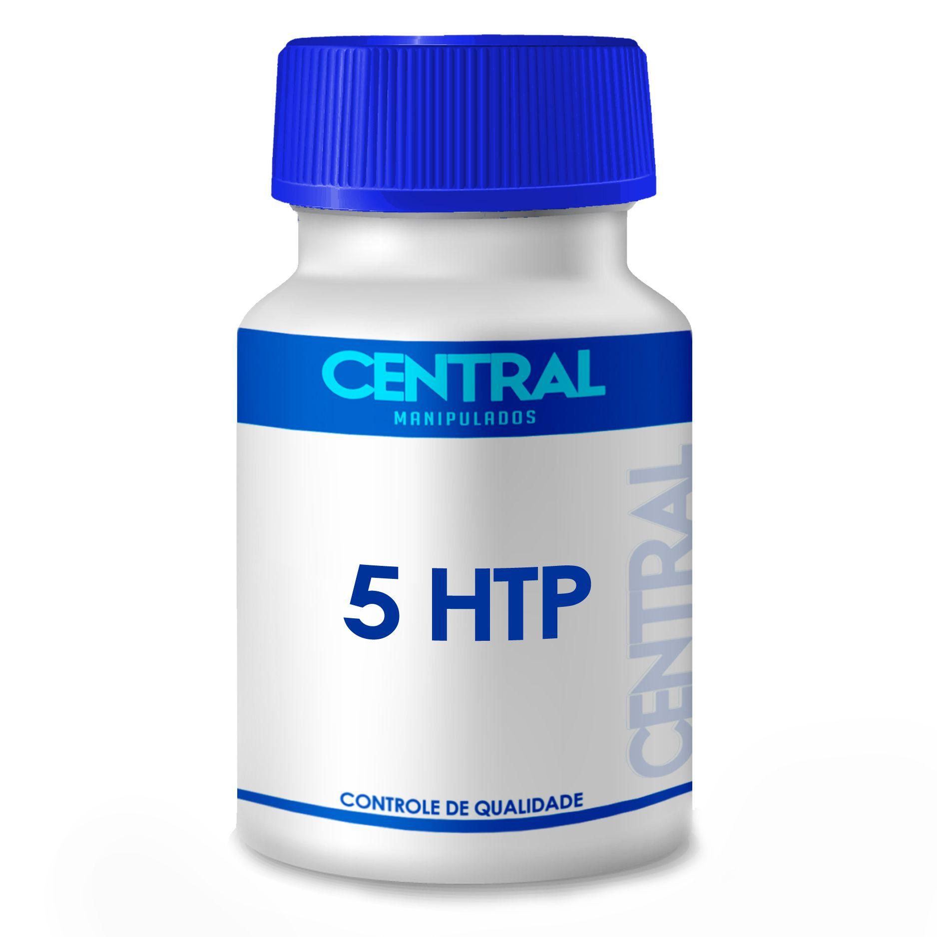 5 HTP - Melhora do humor e Stress - 50mg 30 cápsulas