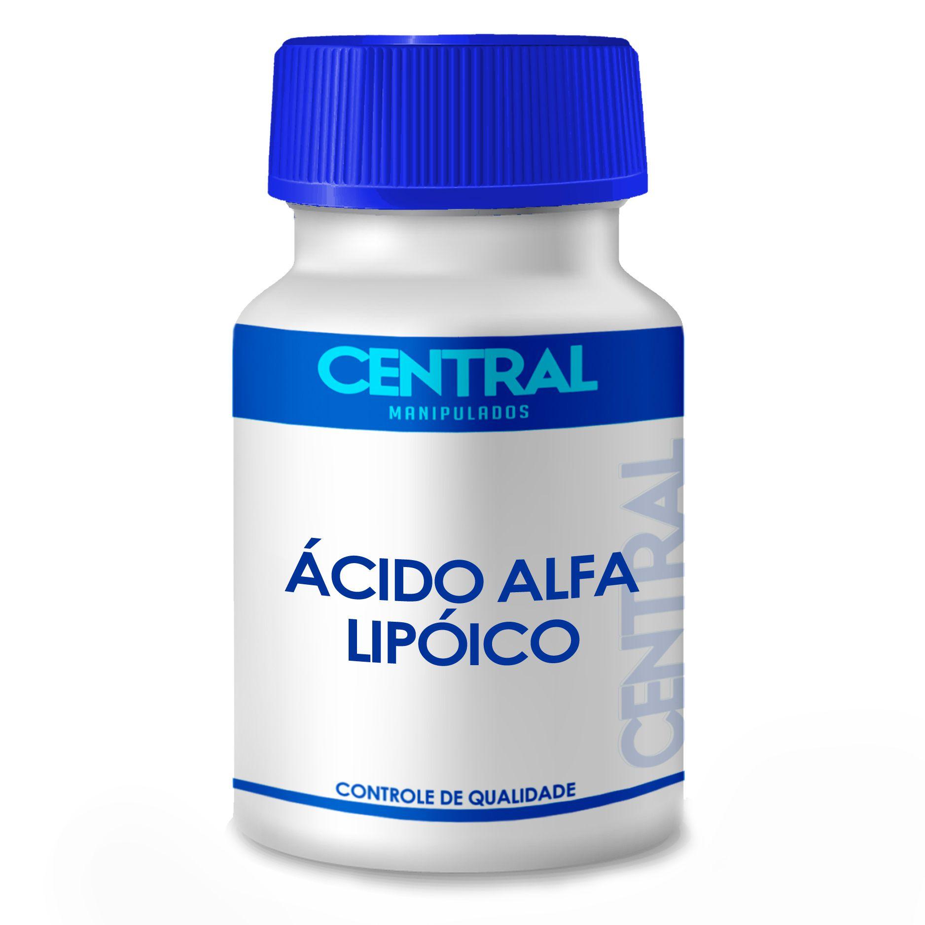Ácido Alfa Lipóico - poderoso antioxidante - 300mg 60 cápsulas