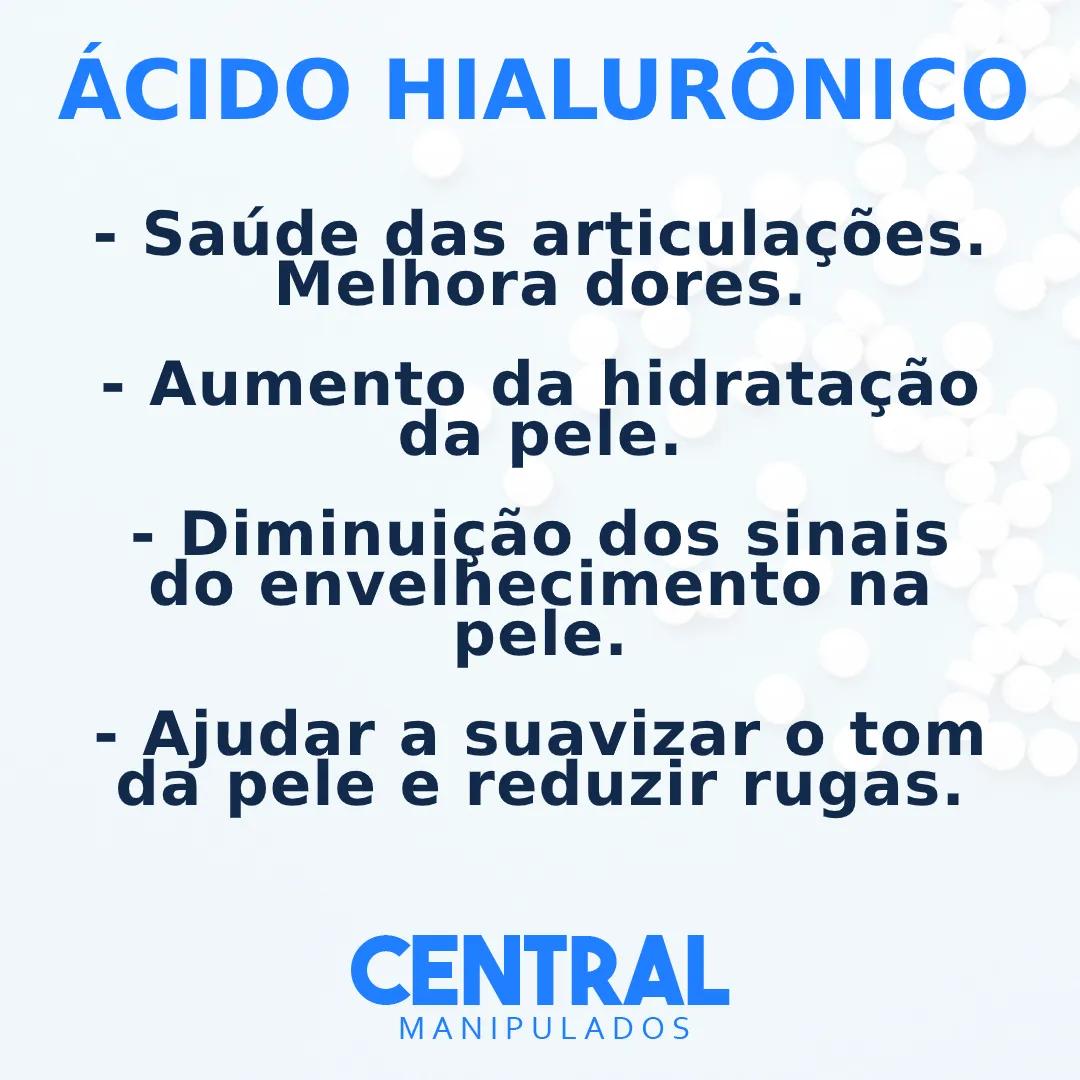 Ácido Hialurônico 100mg - 120 cápsulas