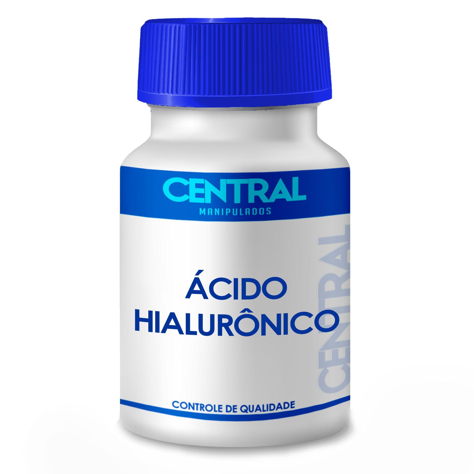 Ácido Hialurônico 50mg  com 120 cápsulas