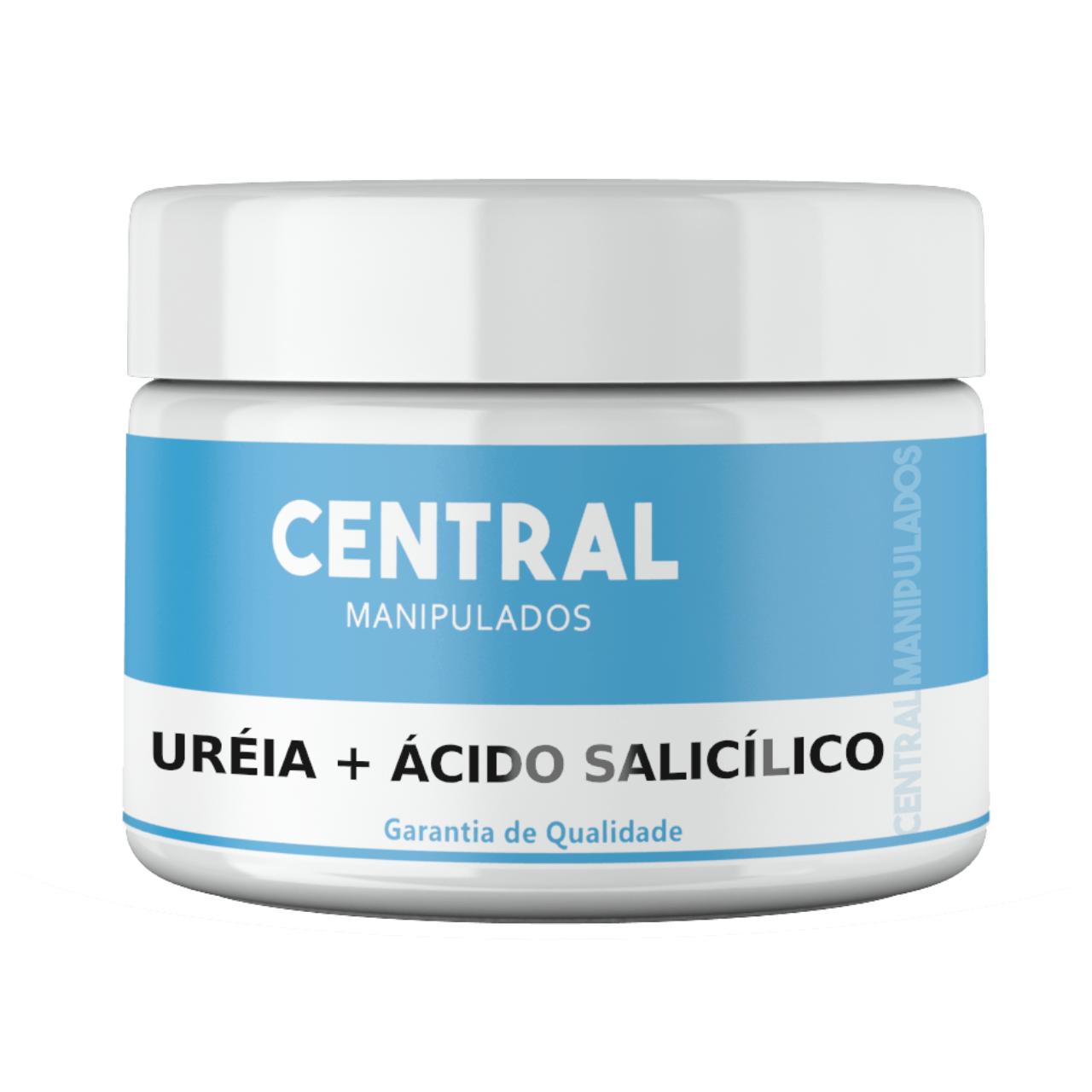 Ácido salicílico 3% com Uréia 10%  - Creme 100g - Renovação para a pele, previne rugas, espinhas, controla oleosidade