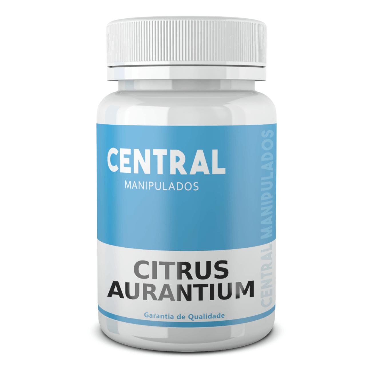 Citrus Aurantium 500mg - 120 cápsulas - Termogênico, Acelera o Metabolismo
