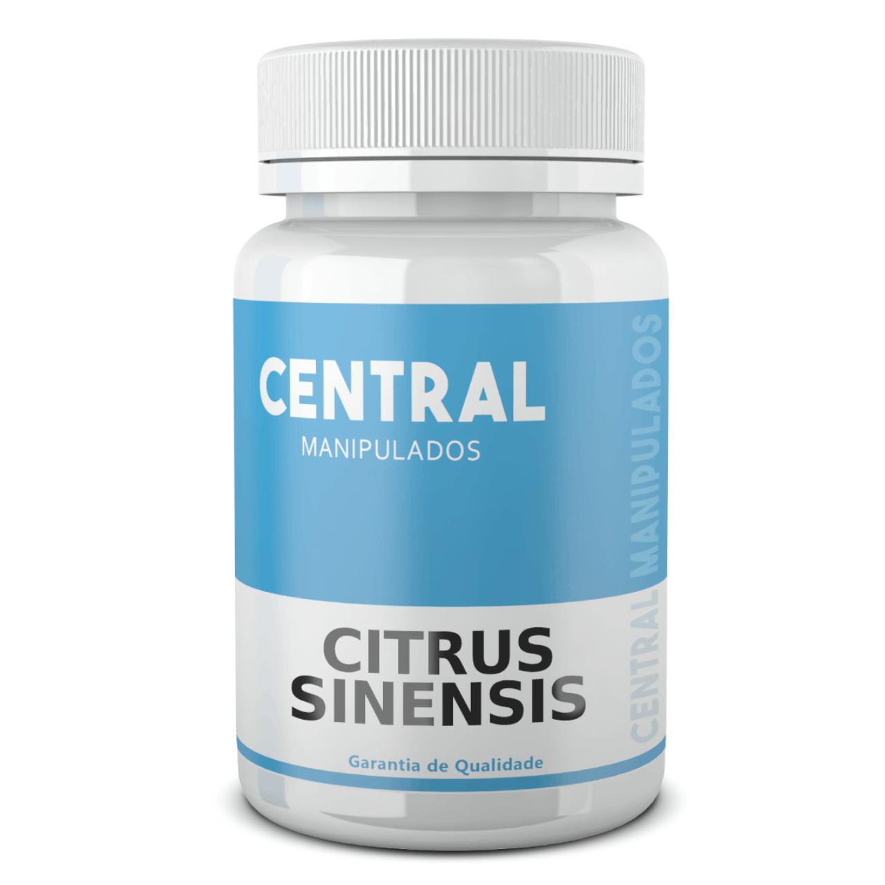 Citrus Sinensis (Laranja Moro) 500mg - 120 cápsulas - Auxílio na Redução de Medidas e Gerenciamento do Peso