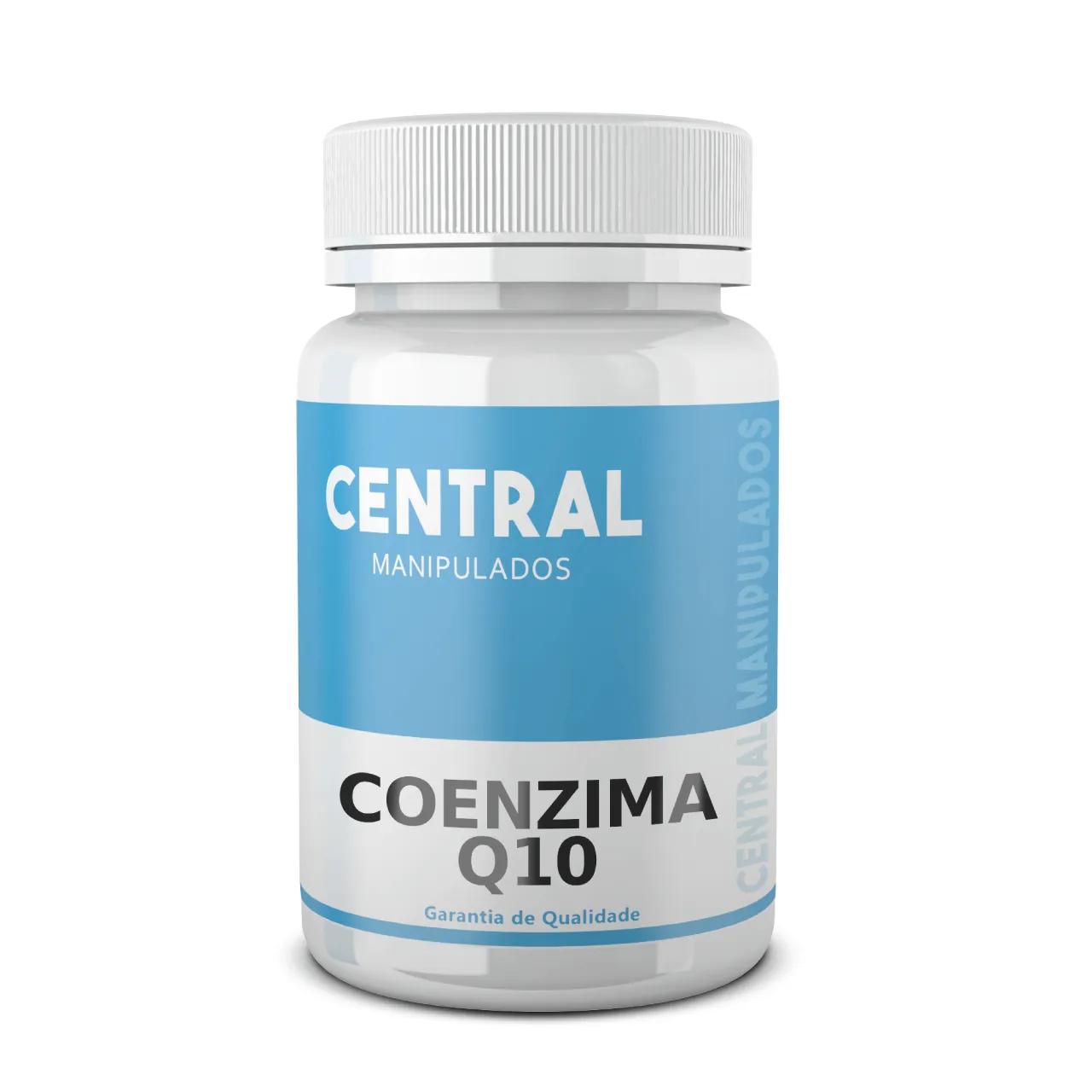 Coenzima Q10 - Ubiquinona - 100mg - 30 cápsulas - Antioxidante