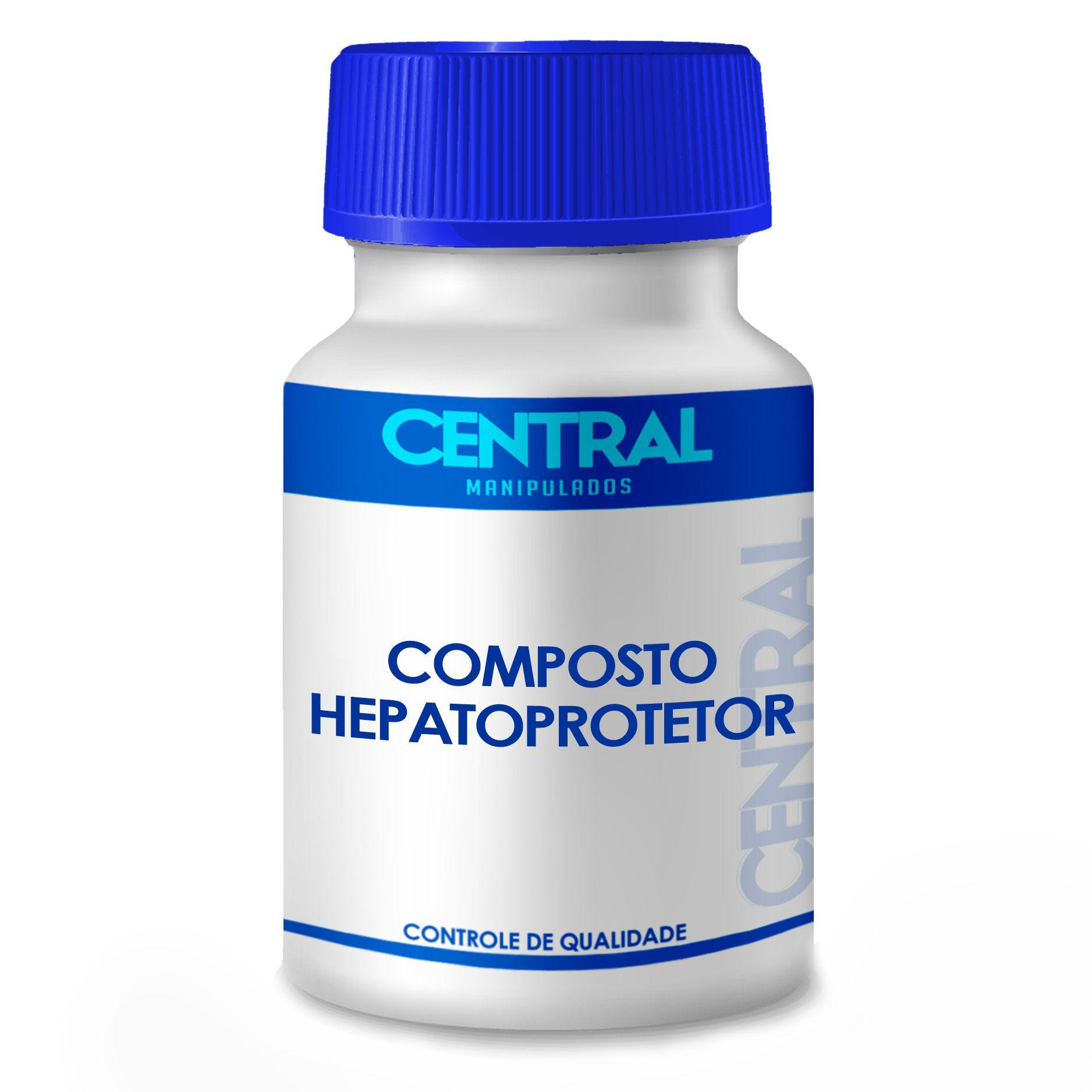 Composto Hepatoprotetor 90 cápsulas