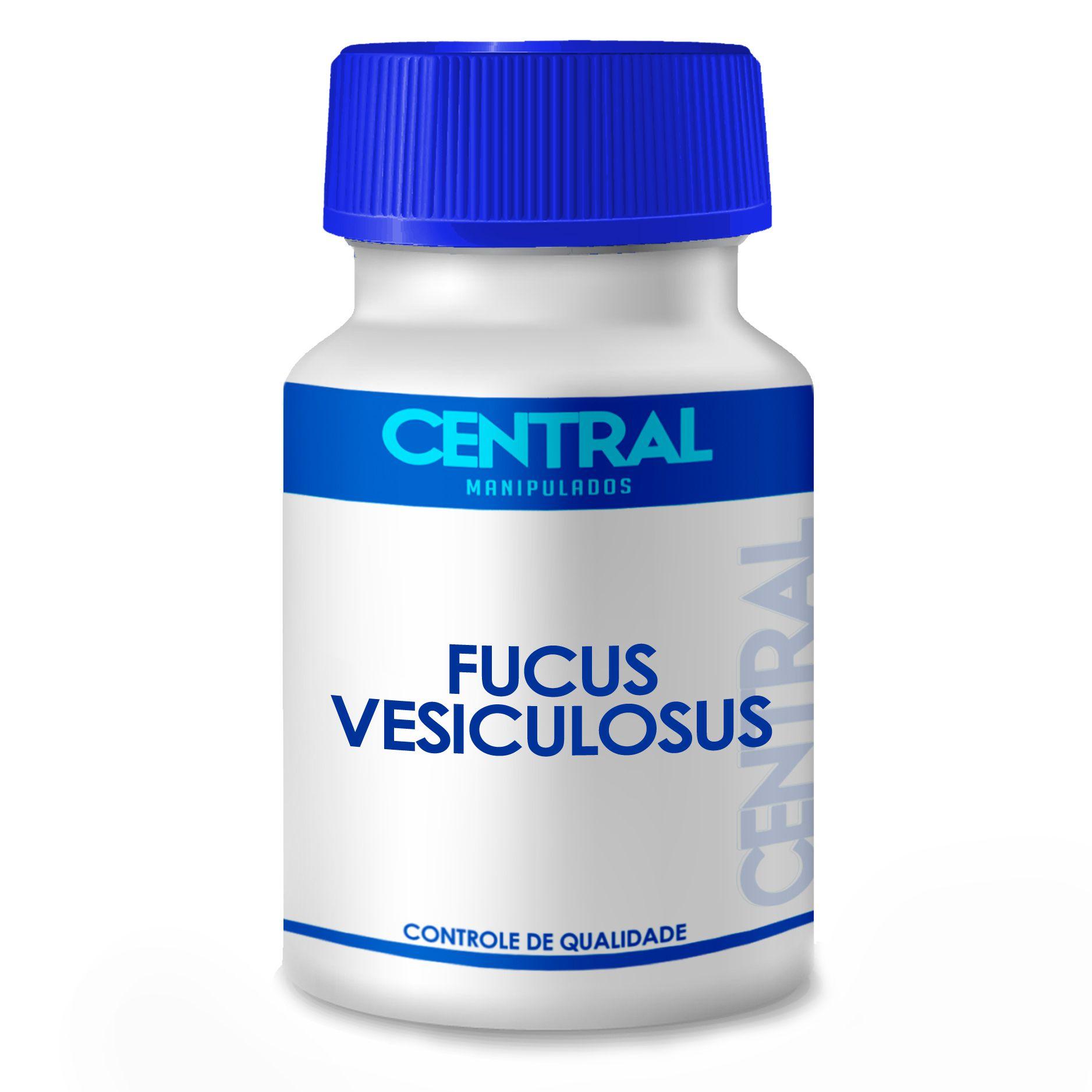 Fucus vesiculosus  - Emagrecedor - 300mg 90 cápsulas