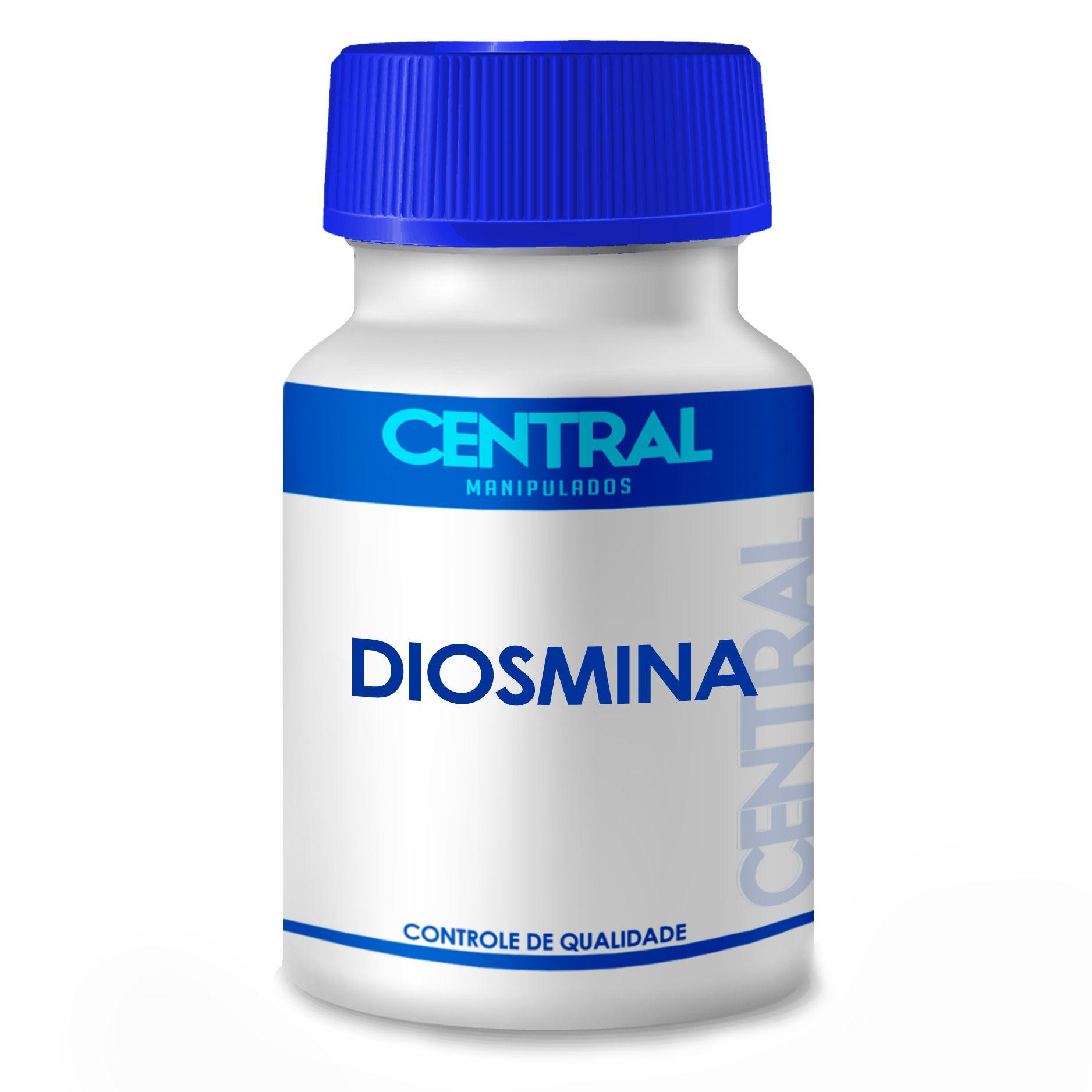 Diosmina - Nas crises hemorroidárias e insuficiência venosa - 450mg 60 cápsulas