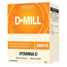 DMILL VITAMINA D3 2.000UI COM 30 CÁPSULAS