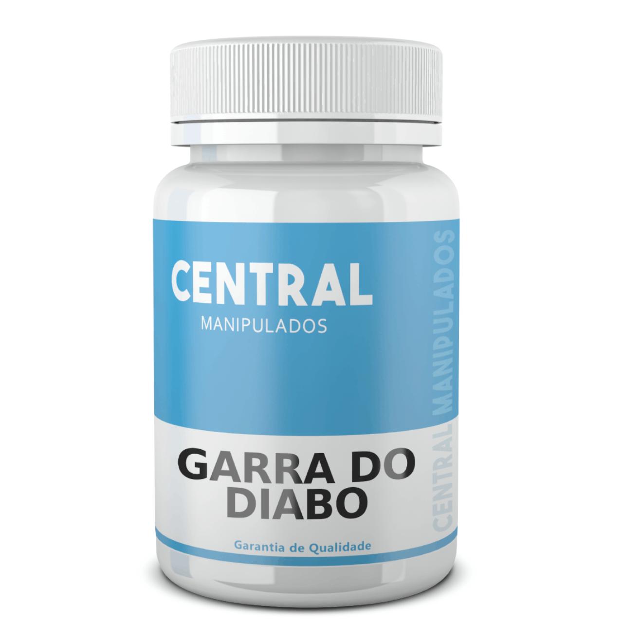 Garra do Diabo 400mg - 60 cápsulas - Anti-inflamatório, Anti-reumático e Analgésico, Contra Dores Articulares