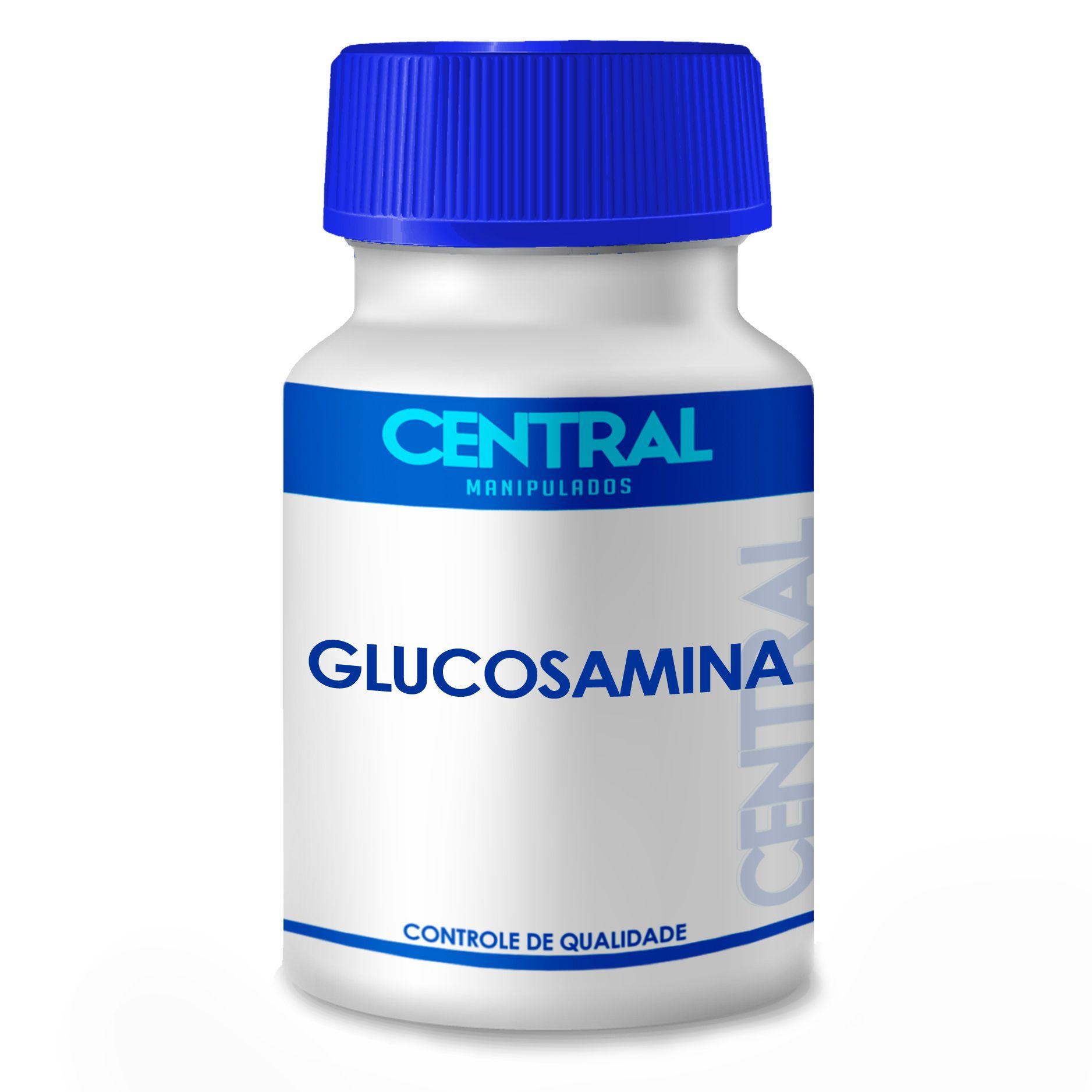 Glucosamina - tratamento de artrose ou osteoartrite 500mg 180 cápsulas