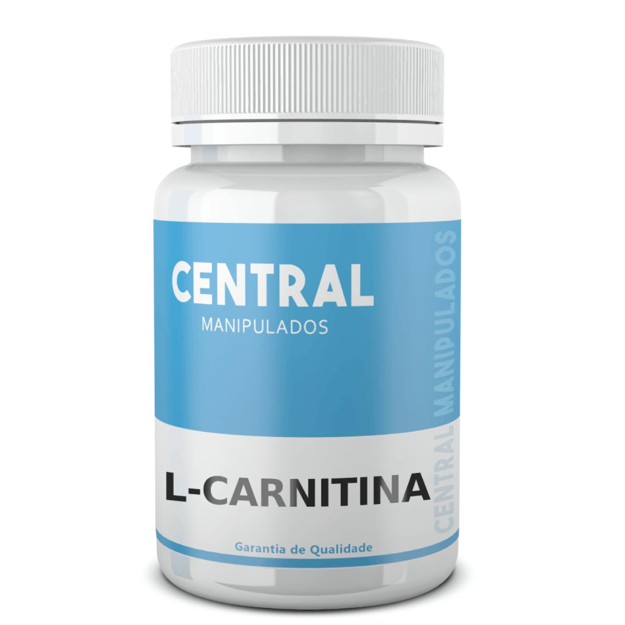 L Carnitina 500mg - 60 cápsulas