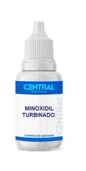 Minoxidil 5% + Piritionato de Zinco 1% - Turbinado - reverter o processo de queda de cabelos - Solução 200ml
