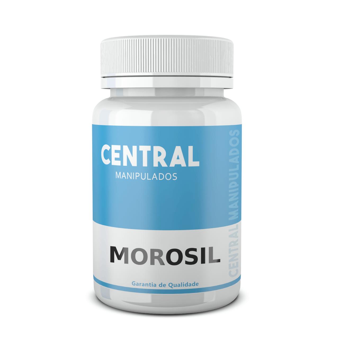 Morosil® (ORIGINAL GALENA) 500mg - 60 cápsulas - Auxílio na Redução de Medidas e Gerenciamento do Peso