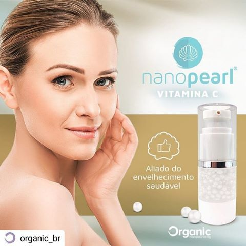 Nanopearl Vitamina C - 30g - Pérolas anti rugas e clareador