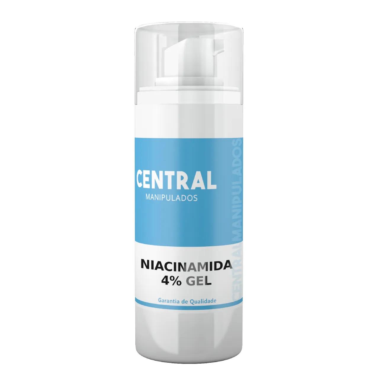 Niacinamida 5% Creme 60g - Ação Antienvelhecimento, uniformidade da pele, ação anti-inflamatória, que ajuda a combater a acne