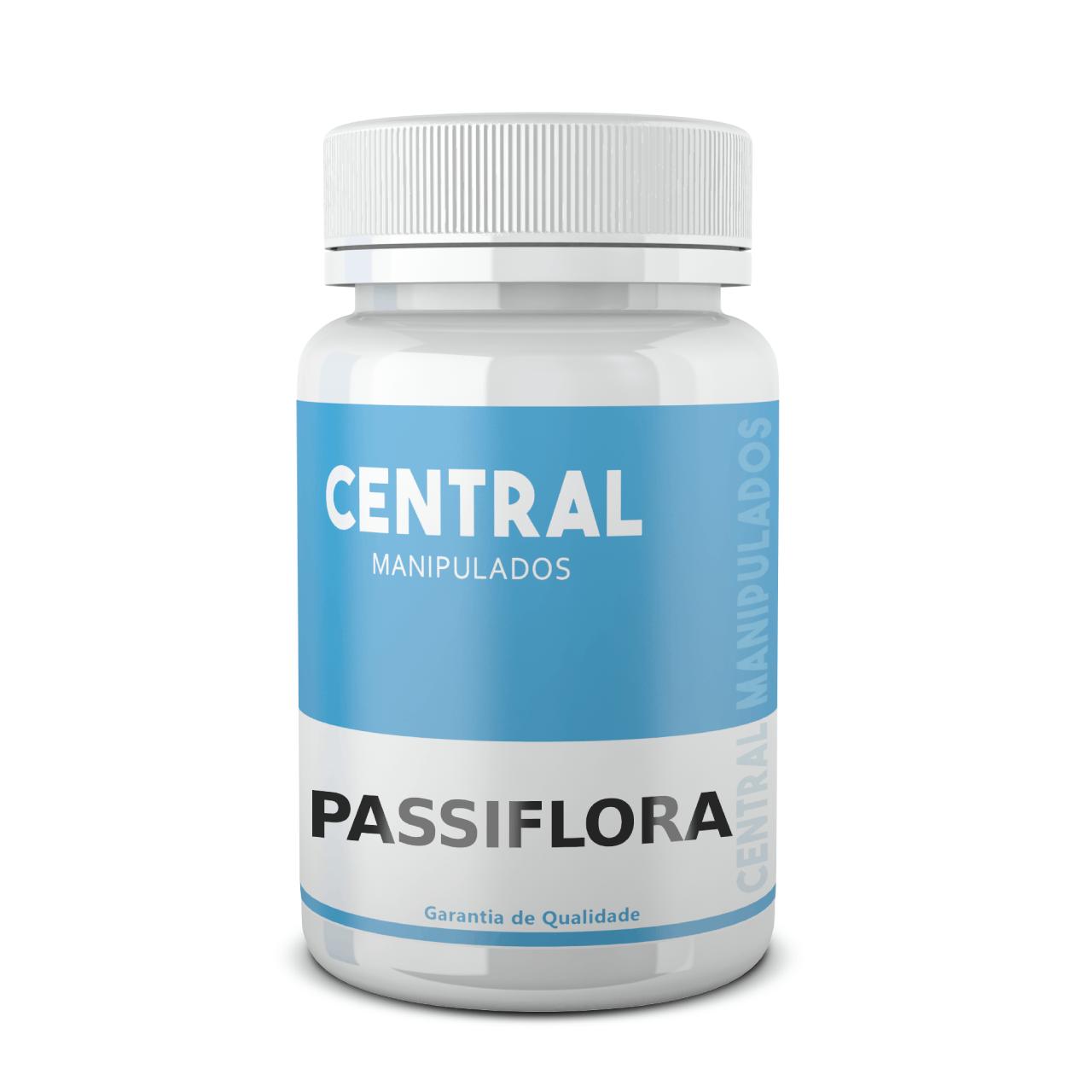 Passiflora 200mg - 120 cápsulas - Calmante Natural