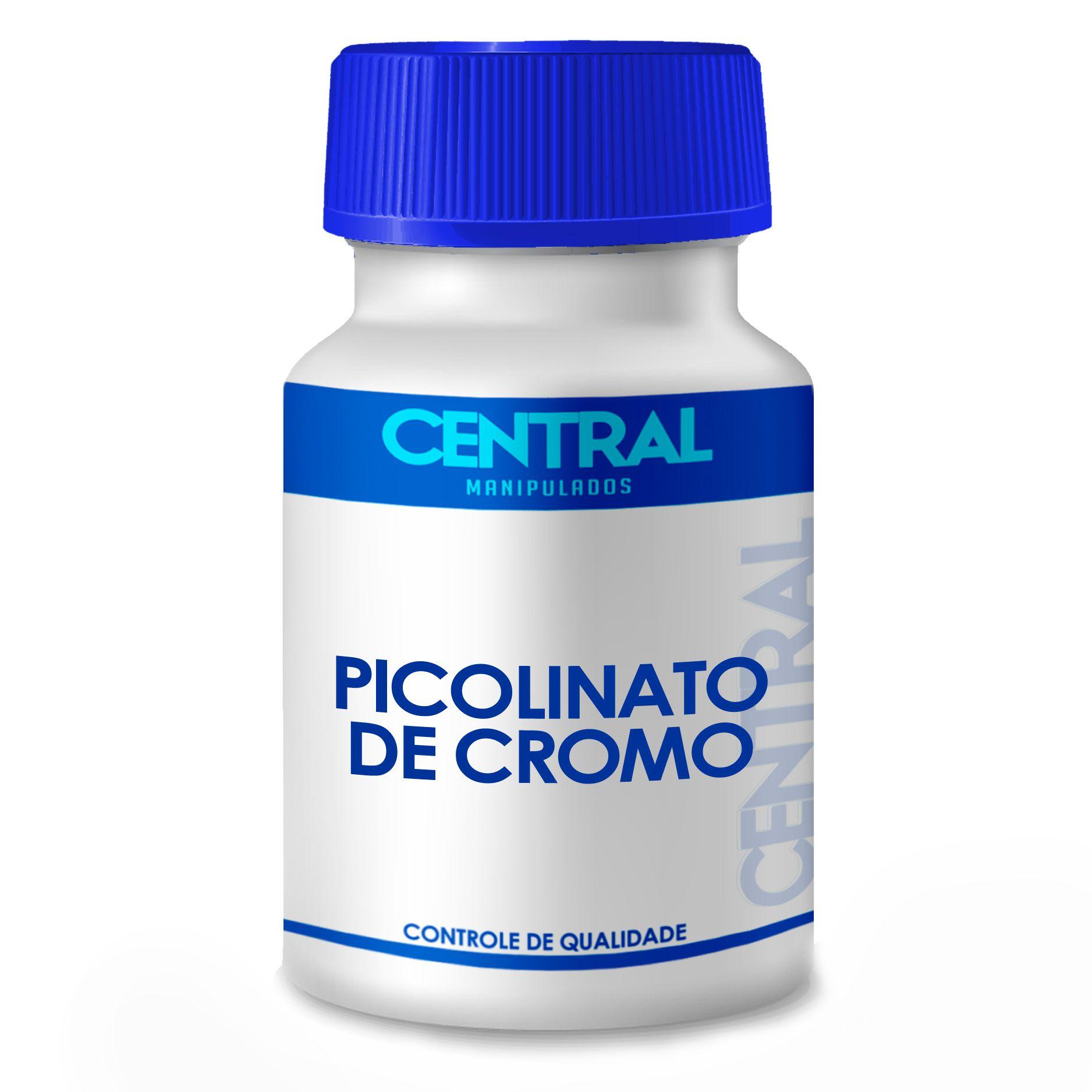 Picolinato de Cromo - Reduz Vontade por Doces - 350mcg  - 60 cápsulas