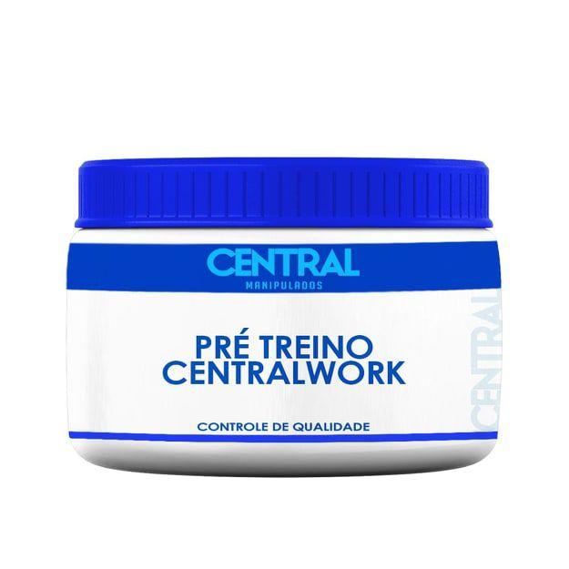 Pré Treino CentralWork   - Energia e Força - 60 doses
