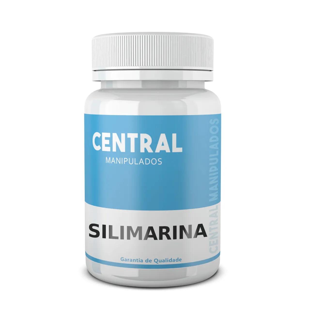 Silimarina 100mg - 60 cápsulas - Protetor do Fígado