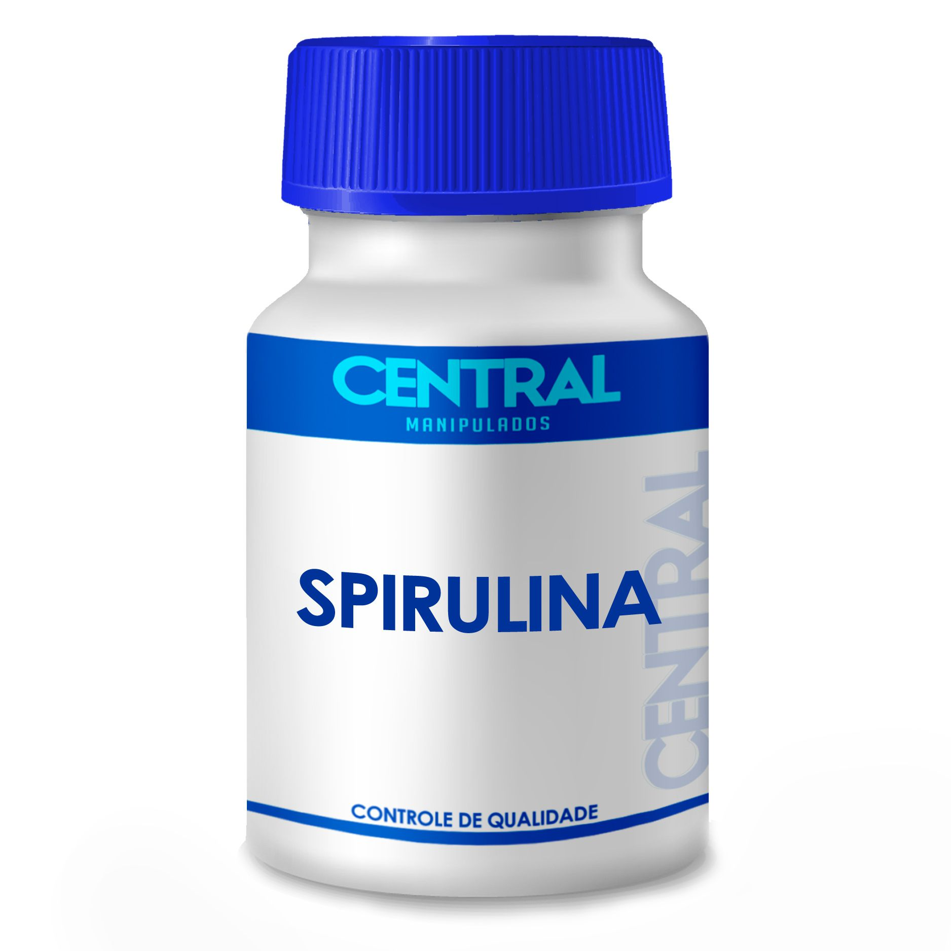 Spirulina - Inibidor de Apetite - 500mg 30 cápsulas