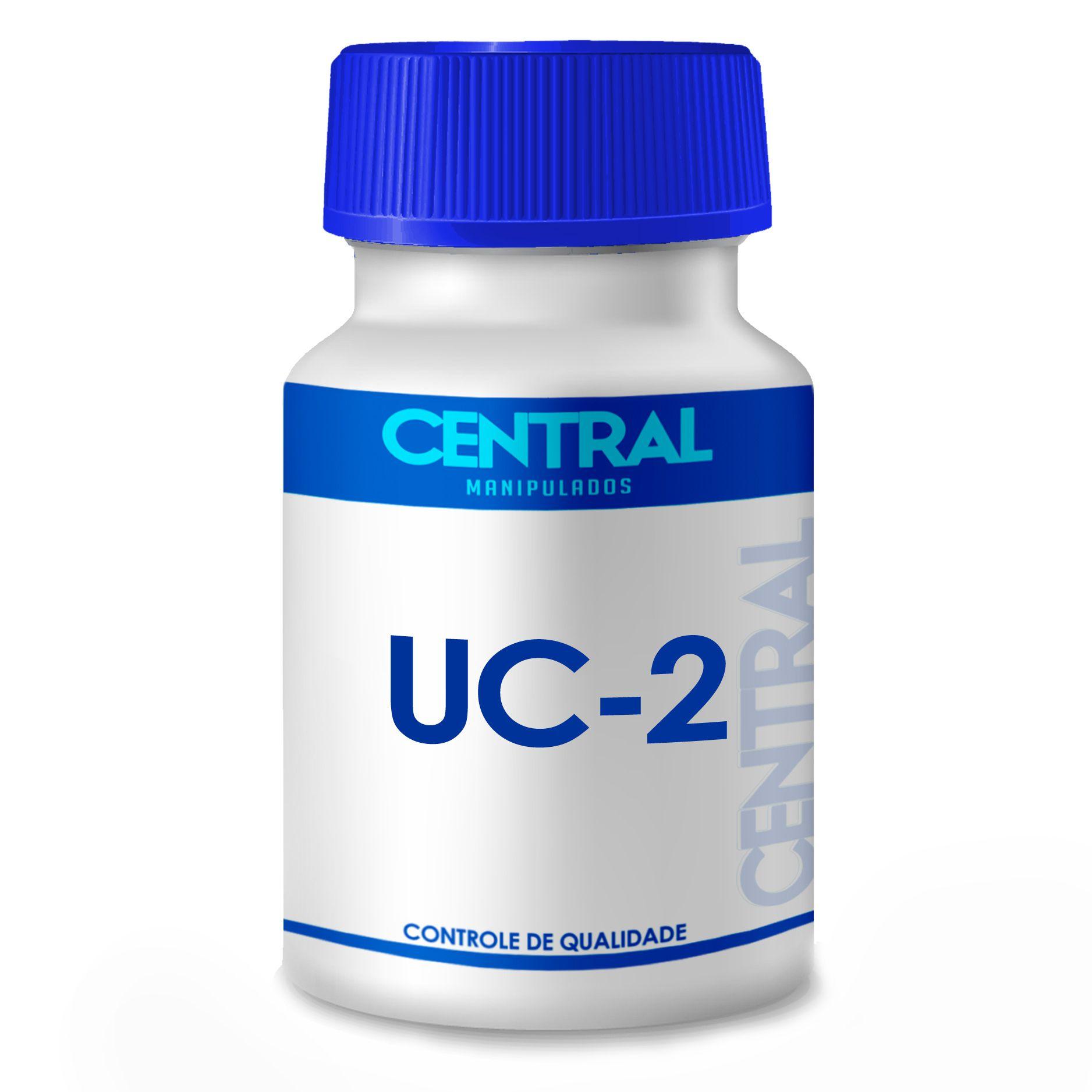 Uc-2 20mg Colágeno Tipo 2 Com 120 Cps Autentico Saúde Total