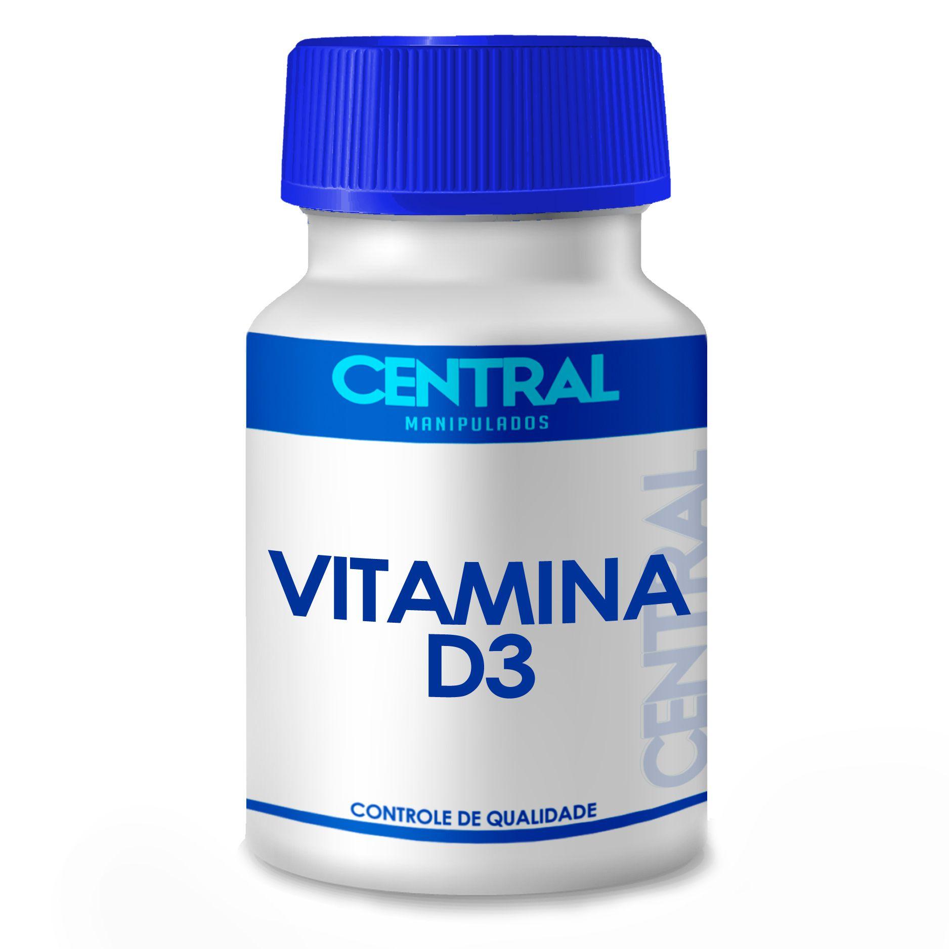 Vitamina D3 - Saúde óssea - 1.000 UI 60 cápsulas