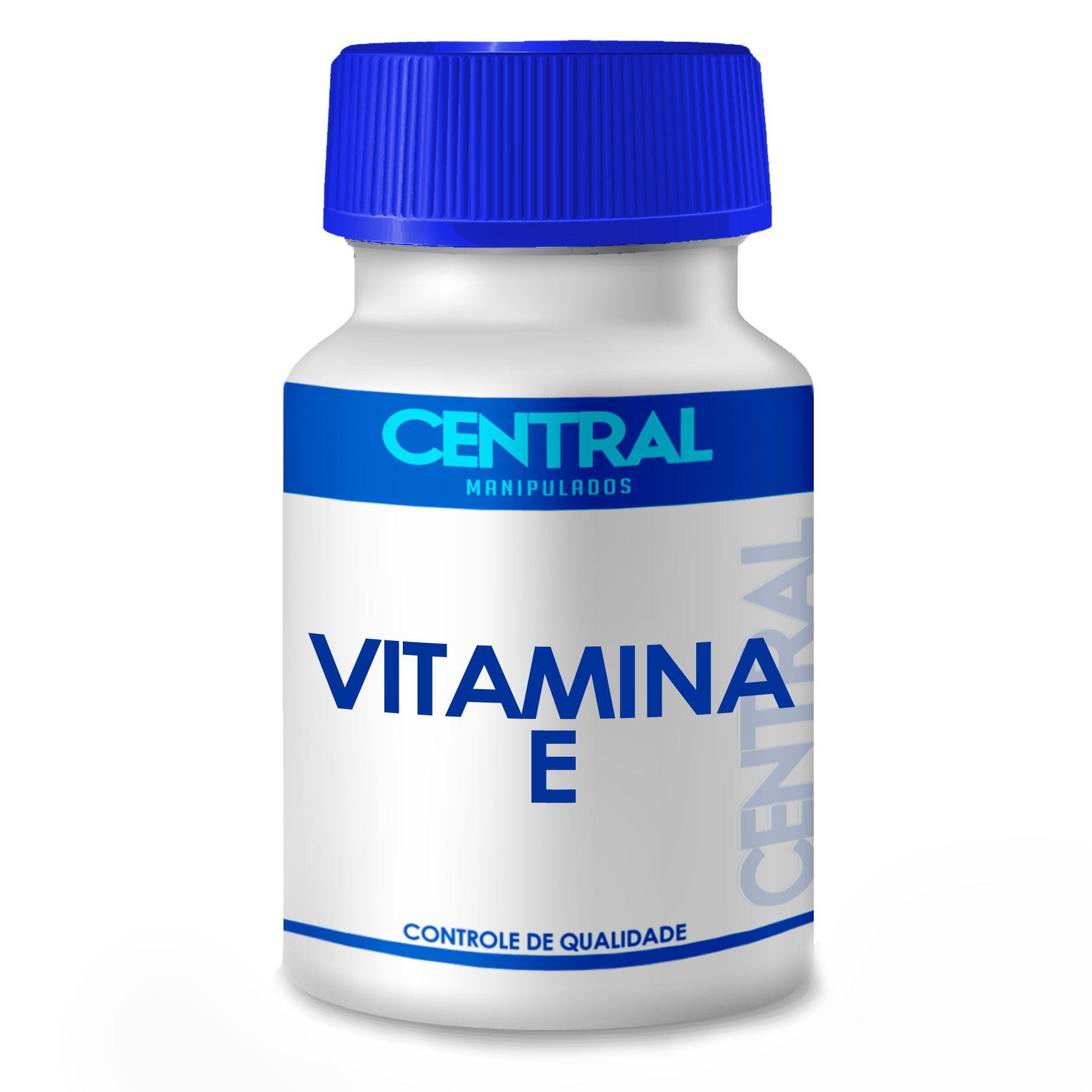 Vitamina E - Poderoso Antioxidante - 400 UI - 60 cápsulas