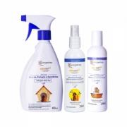 Kit Pet - 1 Adf Pet + 1 Shampoo Alerpet + 1 Fluído Hidratante e Preventivo Alerpet